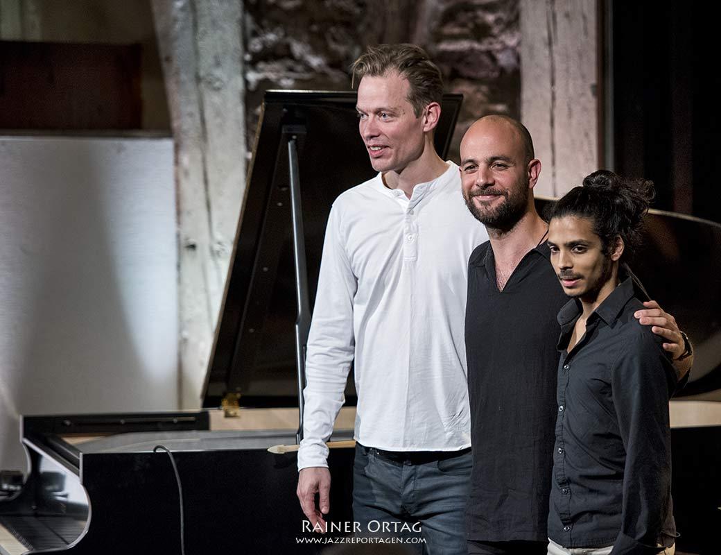 Shai Maestro Trio in der Kelter = Liquid Bar Tübingen 2019