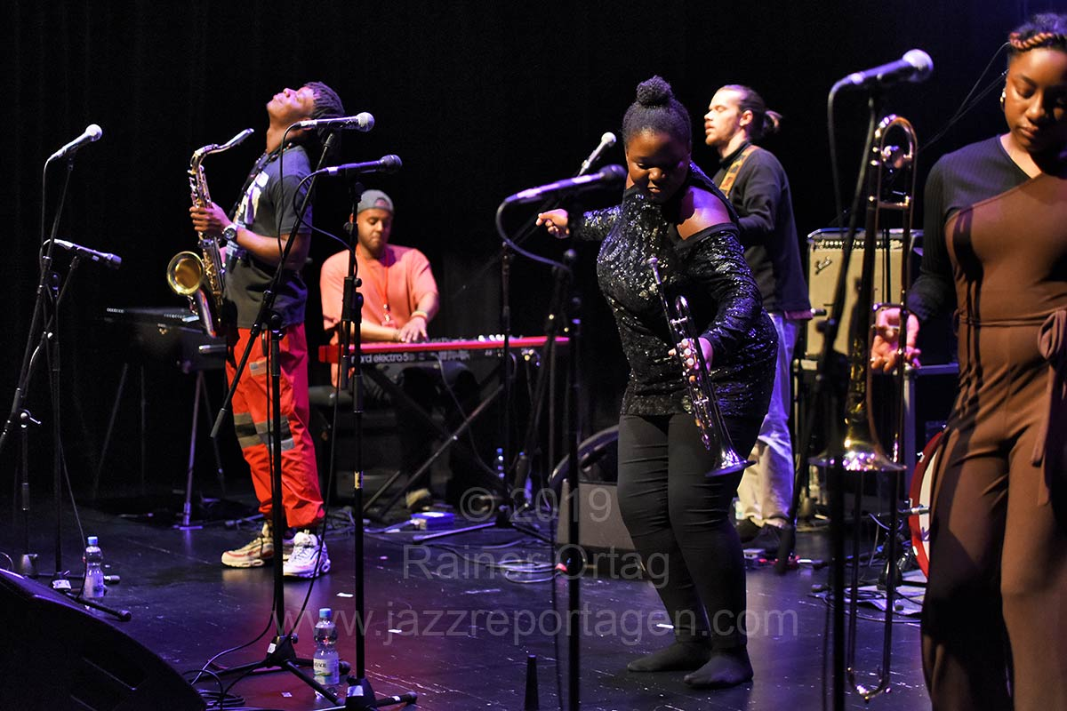 KOKOROKO bei den Theaterhaus Jazztagen Stuttgart 2019