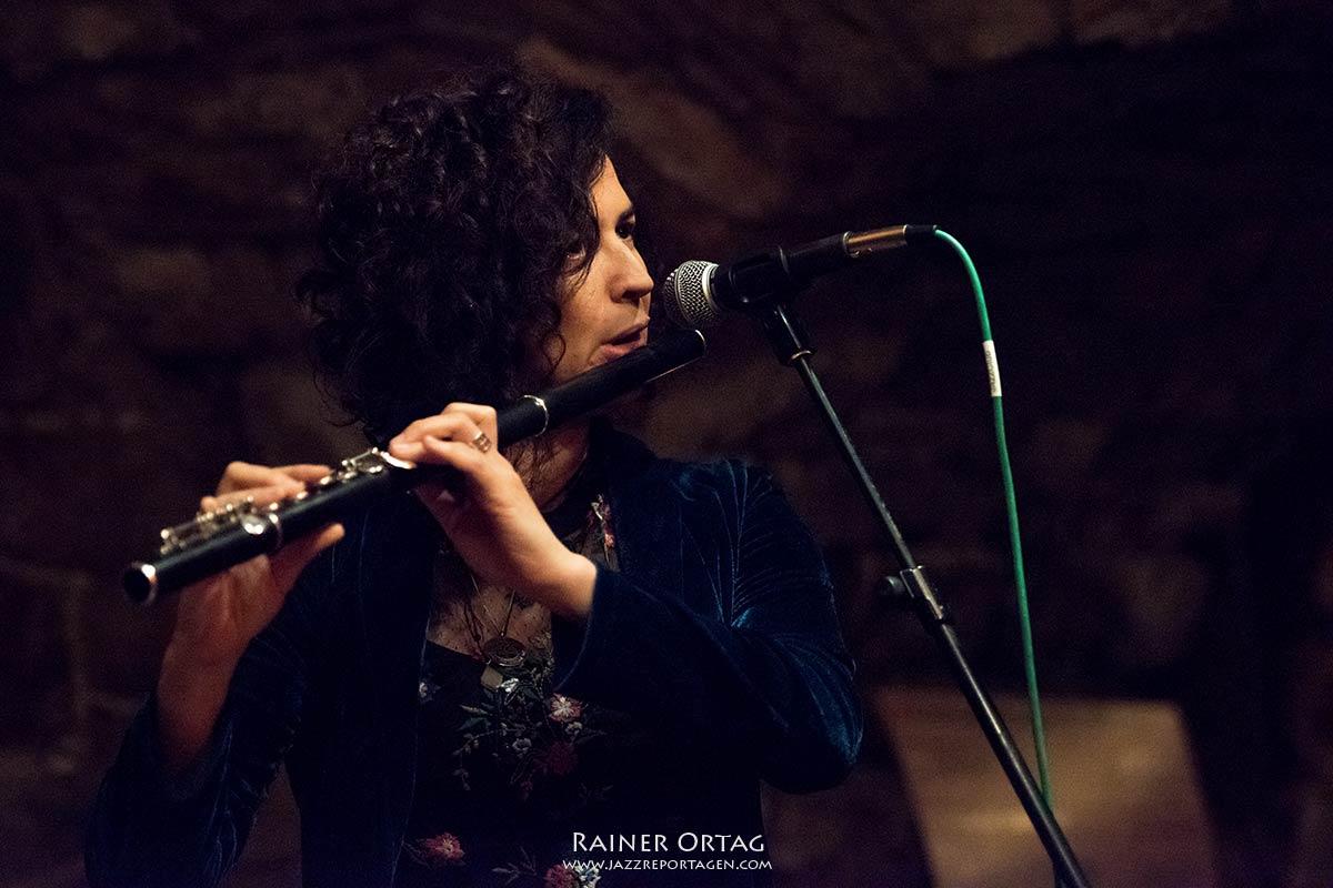Duo Olivia Trummer & Hadar Noiberg im Jazzclub in der Mitte Reutlingen 2019
