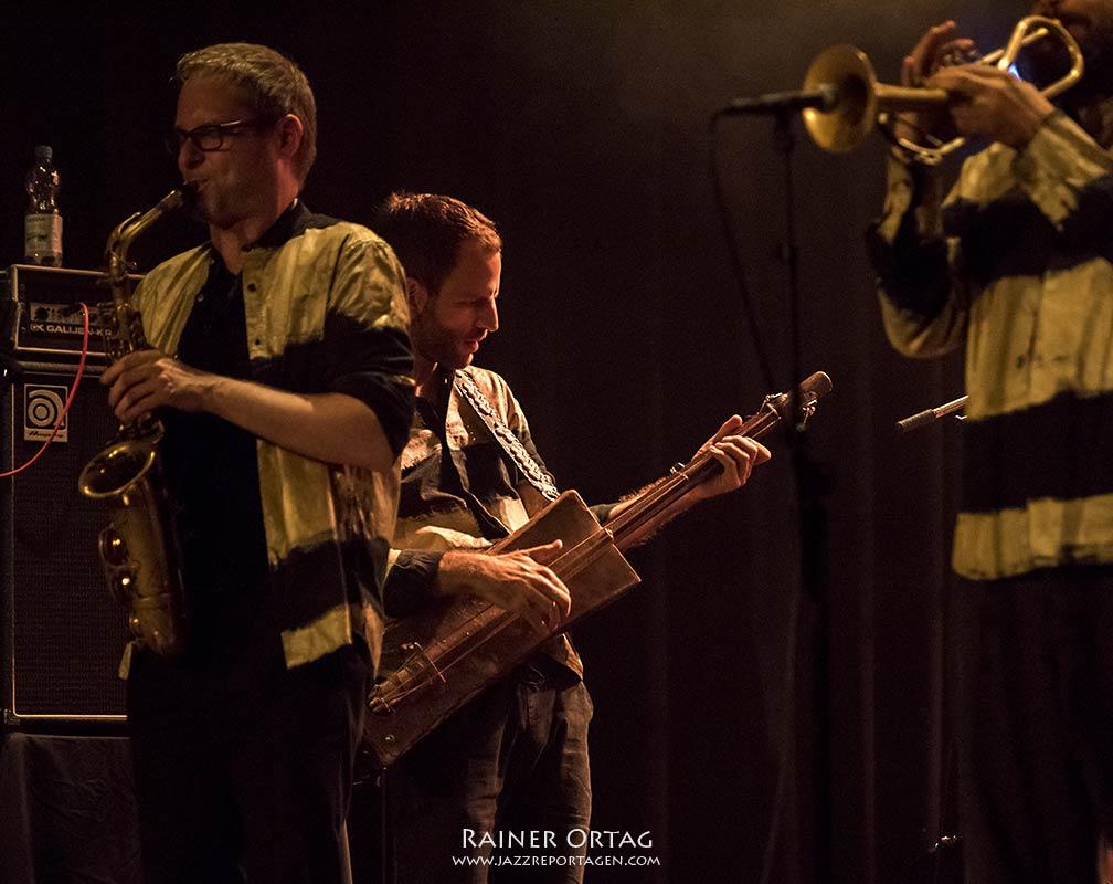 """Shake Stew """"Intergalactic Jazz-Trance"""" in der Dieselstrasse Esslingen 2020"""