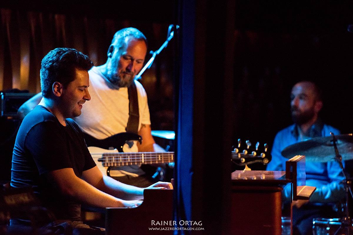 Simon Oslender und Band im Jazzclub Bix Stuttgart 2020