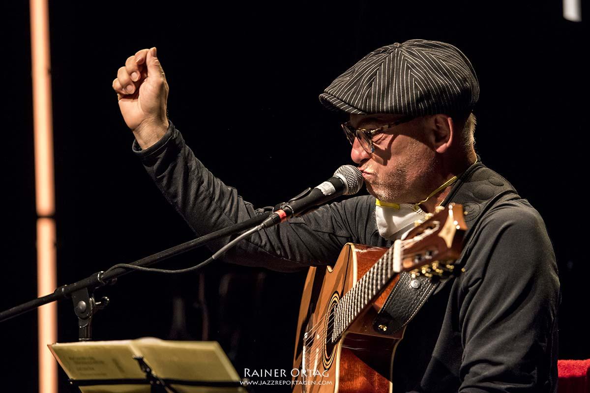 Solophonic Peter Fessler bei den 41. Stuttgarter Jazztagen 2020