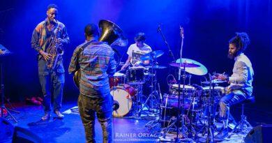 Sons of Kemet bei den Theaterhaus Jazztagen Stuttgart 2018
