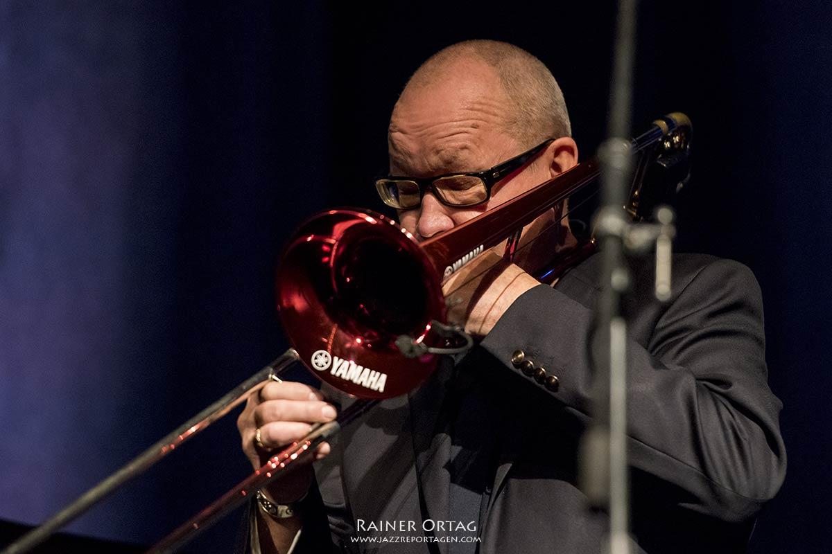 Michael Wollny / Nils Landgren Duo beim Jazzfestival Esslingen 2020